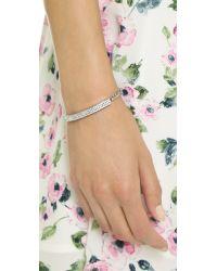 Vita Fede - Metallic Aria Crystal Bracelet - Silver/clear - Lyst