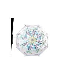 Vera Bradley | Blue Auto Open Bubble Umbrella | Lyst