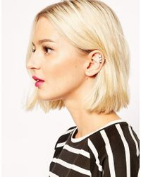ASOS | Pink Limited Edition Shooting Stars Ear Cuff | Lyst