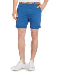 Bellfield | Blue St Plain Regular Fit Chino Shorts for Men | Lyst