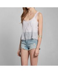 Abercrombie & Fitch - Pink Carissa Shine Top - Lyst