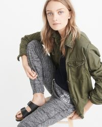 Abercrombie & Fitch - Gray Cozy Banded Sweatpants - Lyst