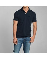 Abercrombie & Fitch - Blue Cascade Lakes Polo for Men - Lyst