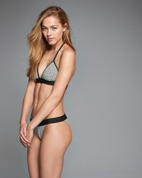 Abercrombie & Fitch - Black Banded Cheeky Bottom - Lyst