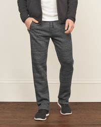 Abercrombie & Fitch - Gray Classic Tracksuit Sweatpants for Men - Lyst