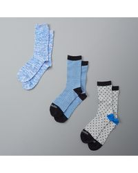 Abercrombie & Fitch - Blue A&f Crew Socks for Men - Lyst