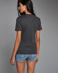 Abercrombie & Fitch | Gray Destination Graphic Tee | Lyst