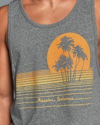 Abercrombie & Fitch - Gray Graphic Tank for Men - Lyst