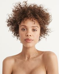 Abercrombie & Fitch - Multicolor Delicate Necklace - Lyst