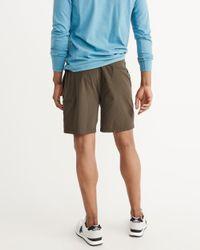Abercrombie & Fitch - Green Sport Nylon Shorts for Men - Lyst