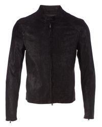 DROMe - Black Lambskin Jacket for Men - Lyst