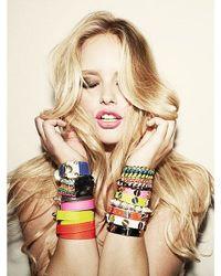 CC SKYE - Brown Lindsey Bracelet - Lyst