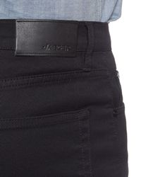 Jaeger - Black Twill Five Pocket Trousers for Men - Lyst