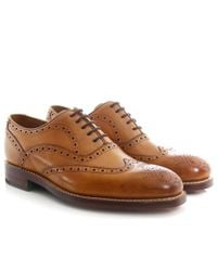 Oliver Sweeney - Brown Leather Aldeburgh Brogues for Men - Lyst