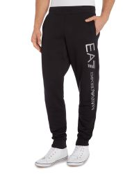 EA7 | Black Straight Leg Casual Tracksuit Bottoms for Men | Lyst