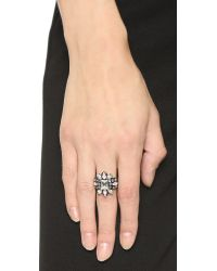 Erickson Beamon - Lady Of The Lake Ring - Pink Multi - Lyst