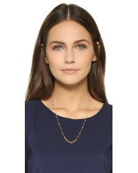 Gorjana | Metallic Chloe Mini Long Necklace | Lyst