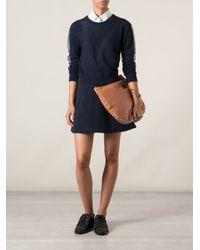Valentino | Brown Rockstud Hobo Shoulder Bag | Lyst