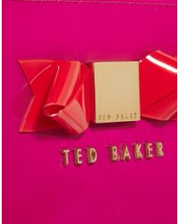 Ted Baker - Pink Desre Bow Mini Tablet Case - Lyst