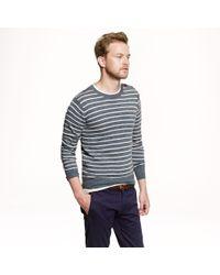 J.Crew - Blue Slim Sedona Shoulder Button Sweater for Men - Lyst