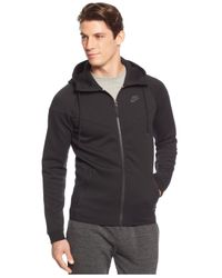 Nike | Black Men's Windrunner Fleece Performance Full-zip Hoodie for Men | Lyst