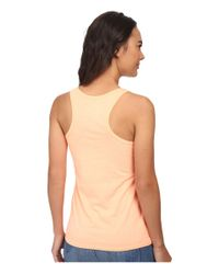 Hurley | Orange Solid Perfect Tank Top | Lyst
