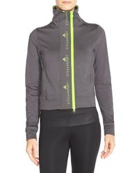 Adidas By Stella McCartney - Gray 'the Midlayer' Training Jacket - Lyst