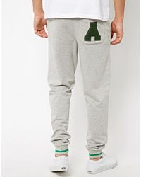ASOS - Gray Skinny Sweatpants with A Back Pocket for Men - Lyst