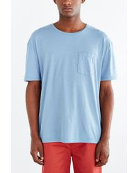 BDG | Blue Box-fit Crew Neck Tee for Men | Lyst