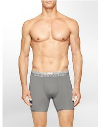 Calvin Klein | Gray Underwear Magnetic Force Micro Boxer Brief for Men | Lyst