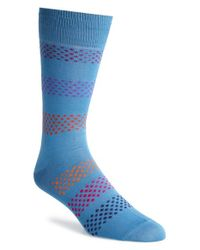 Paul Smith - Blue Dot Socks for Men - Lyst