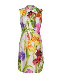 Ports 1961 - Green Short Dress - Lyst
