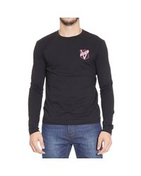 Versus | Black T-shirt for Men | Lyst