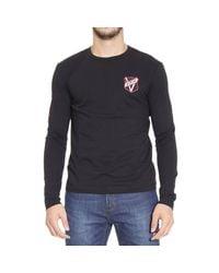 Versus | Black T-shirt for Men | Lyst