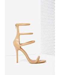 Nasty Gal   Natural On A Level Heel - Nude   Lyst