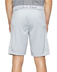 Calvin Klein | Blue Side Streak Athletic Shorts for Men | Lyst