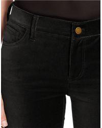 Lauren by Ralph Lauren | Black Petite Velvet Skinny Pants | Lyst