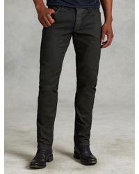 John Varvatos | Brown Chelsea Jean for Men | Lyst