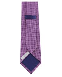 Eton of Sweden | Purple Textured Tie for Men | Lyst
