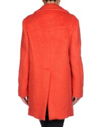 Marni - Red Coat - Lyst