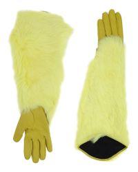 KENZO | Green Gloves | Lyst