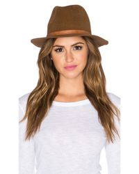 Hat Attack - Brown Luxe Classic Hat - Lyst