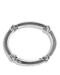 David Yurman - Metallic Chevron Id Bracelet for Men - Lyst