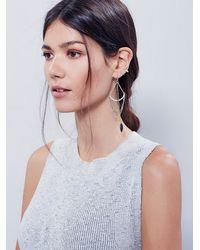 Free People - Metallic Womens Crossbow Dangle Earrings - Lyst