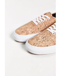 Vans - Brown Authentic Printed Sneaker for Men - Lyst