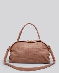 See By Chloé - Brown See By Chloé Satchel - Bluebell Perforated - Lyst