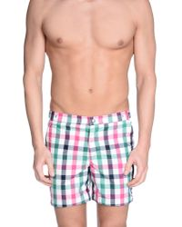 Robinson Les Bains - Purple Swimming Trunks for Men - Lyst