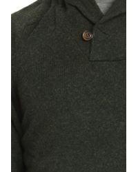 Woolrich | Green Ivy League Shawl Collar for Men | Lyst
