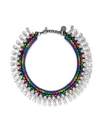 Venessa Arizaga | Multicolor 'technicolor Girls' Necklace | Lyst