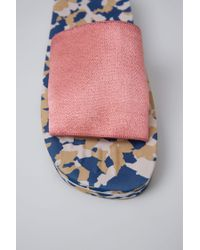 Acne - Tania Elastic pink/navy - Lyst